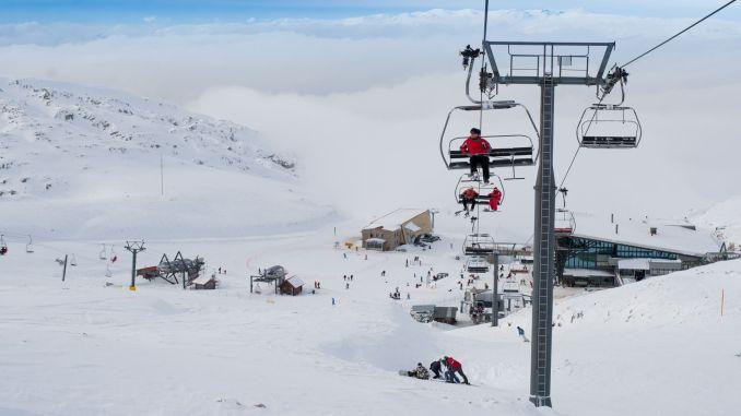 greece skiing center