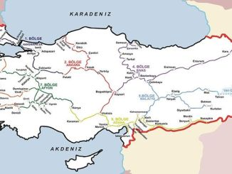 Current Turkey Railway Network
