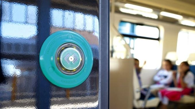 Door knobs are disabled in izban wagons