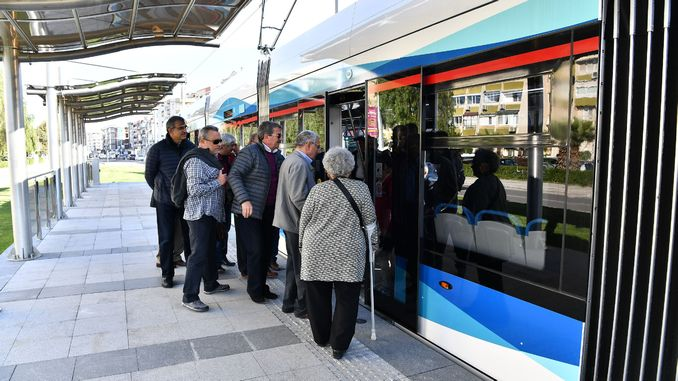 public transportation coronavirus setting in izmir changed the bus bus tram and ferry times