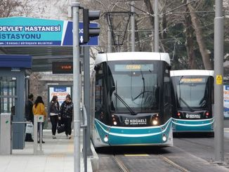 El uso del transporte público en Kocaeli disminuyó en un% debido al virus