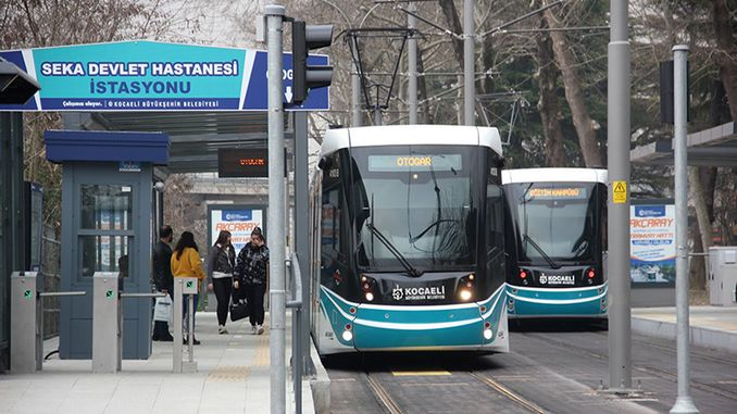 public transport use in Kocaeli decreased by% due to virus