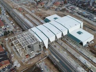 konya yht station works started again