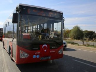 Manisa large city would draw attention to social distance in transportation