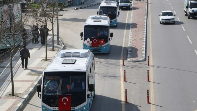 Support to cooperatives providing mass transportation services from the big city of manisa
