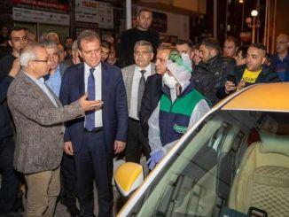 un programme de formation pour les conducteurs de voitures particulières à Mersin a commencé