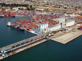 may be Mersin trade and logistics center