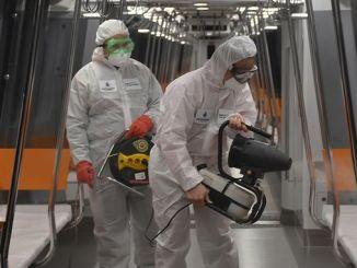 epidemiske foranstaltninger i metro istanbul