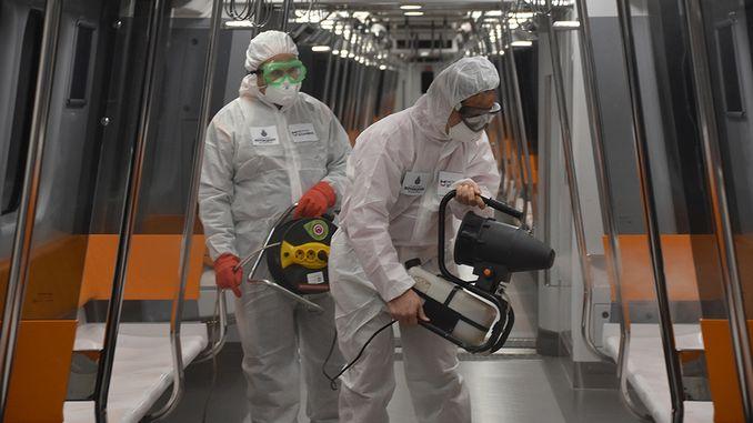 epidemian toimenpiteet metro istanbul