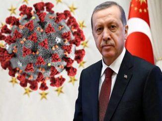 ընդունելություն tayyip erdogan coronavirus