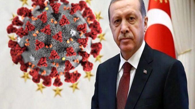 رجب طيب اردوغان الفيروس التاجي