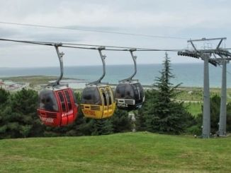 Maintenance Work to Be Done at Samsun Amisos Hill Cable Car Line