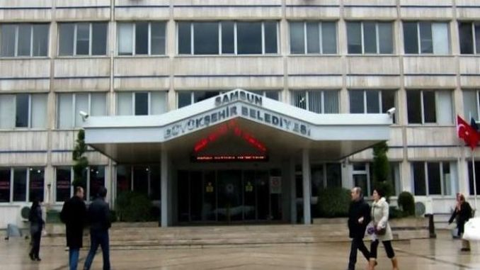 samsun buyuksehir municipality will make civil servants