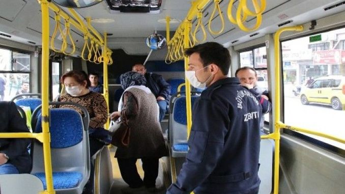 social distance control in public transport vehicles