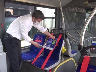 new seating arrangement in public transport vehicles