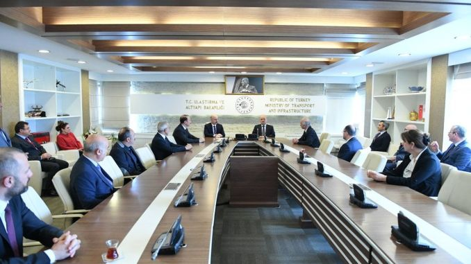 Karaismailoglu assigned to the ministry of transport and infrastructure started