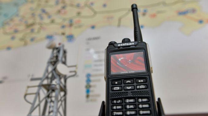 ASELSAN Digitales Kommunikationsnetzwerk