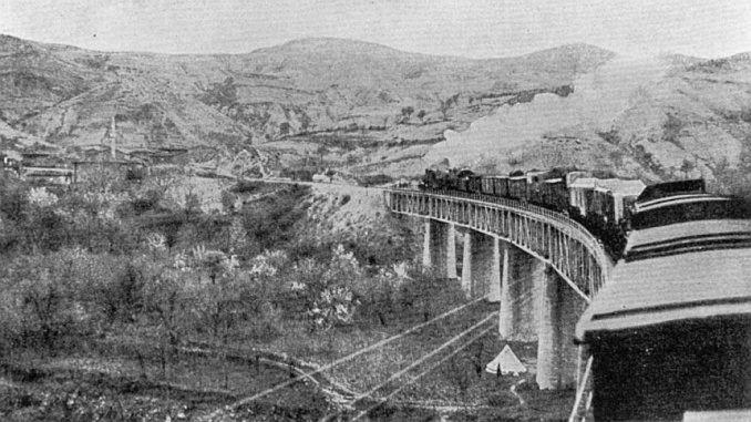 السكك الحديدية إلى بغداد
