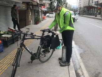 Fahrradunterstützung für die Solidarität, die wir haben