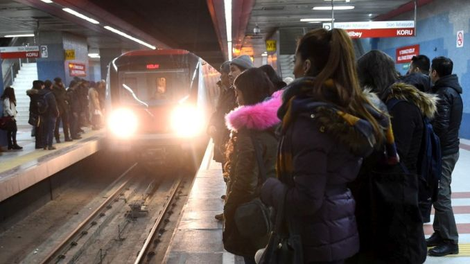 Public transport cards of young people under the age of Ankara were canceled