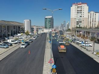 asphalt season opened in Ankara