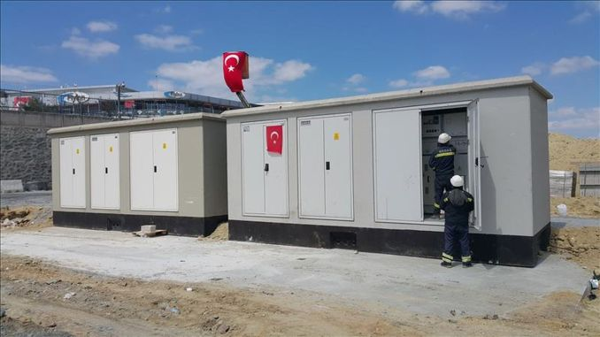 The energy of the pandemic hospital at the Ataturk airport