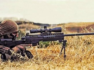azerbaycan ctrl sniper rifle from Turkey readies for scholars
