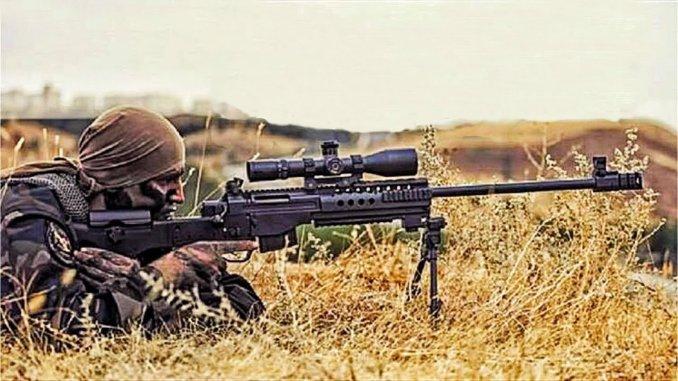 ctrl azerbaycan bắn tỉa súng trường từ Thổ Nhĩ Kỳ chuẩn bị sẵn sàng cho các học giả