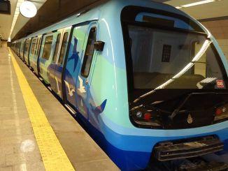 Las obras continúan en el metro Bostanci Dudullu