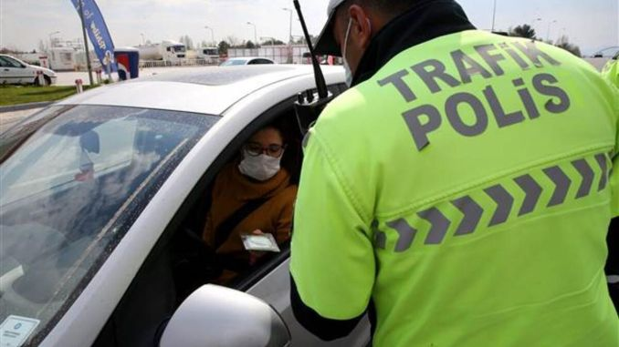 In the special vehicle in Bursa, wearing a mask was introduced.