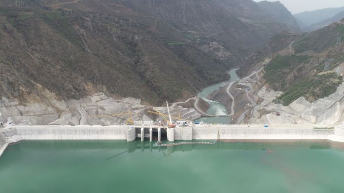cetin dam and hydroelectric power plant started energy production
