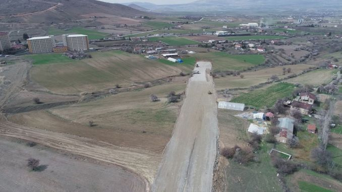 elazig traffic continues to breathe road works