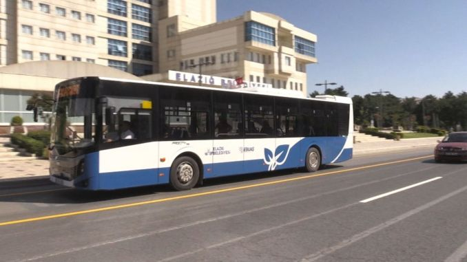 unmasked passengers will not be accepted to elazigda public transportation vehicles