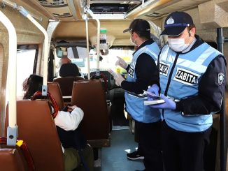 Social distance control in bus and dolmus in Eskisehir