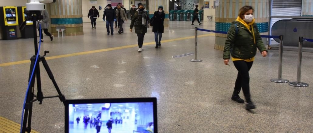 ibb metro istasyonlarina termal kameralar yerlestiriyor