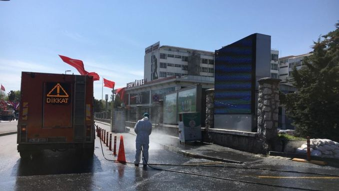 Comprehensive cleaning in ibb-to-street restriction