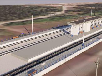 tender announcement stop and platform platform