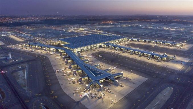 Istanbul airport completed its first year at full capacity