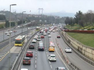 Despite warnings in Istanbul, the number of vehicles in traffic decreased only by one percent