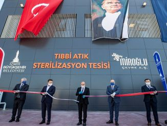 Izmir Buyuksehir municipality opened medical waste facility