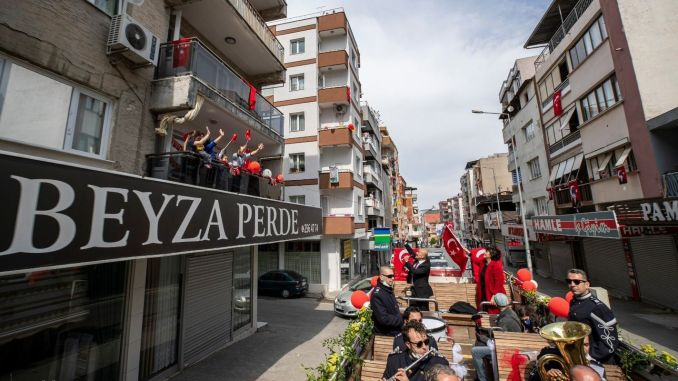 Izmir ring became the only country in April