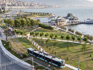 Ang paggamit sa masa nga transportasyon sa Izmir
