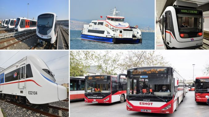 izmir's public transport plan is ready for may