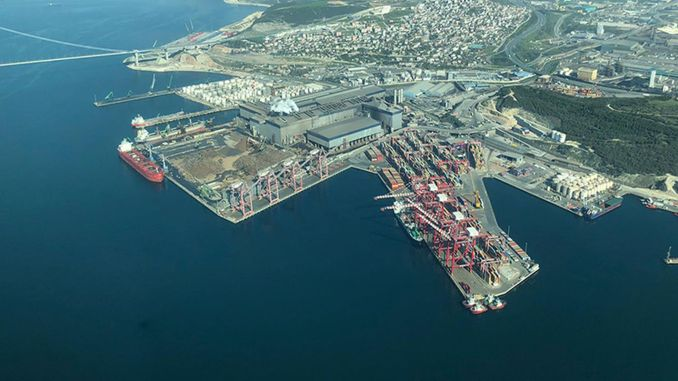 There is no passage to pollution in Izmit bay