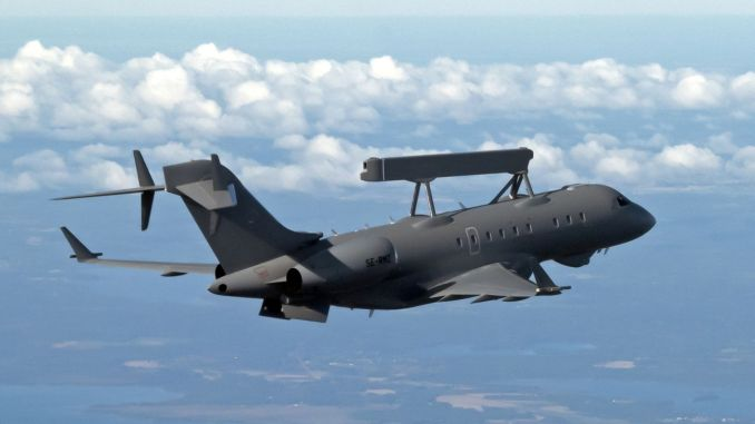 saab surrenders first aewc aircraft to united arab emirates