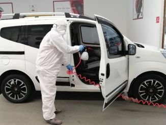 tofas started to provide free vehicle disinfection services