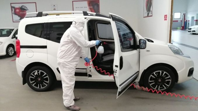 tofas ​​started to provide free vehicle disinfection services