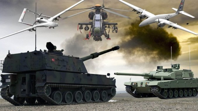 Turkish defense industry year data has been announced