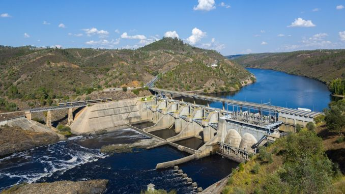 hydroelectric power plant was put into service annually