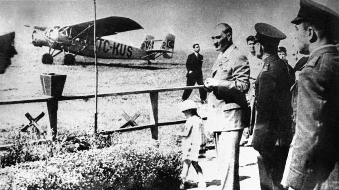 turk air agency turk tayyare society was established